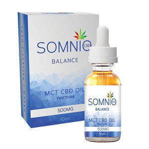 Somnio MCT CBD Oil Tincture 500mg 10ml - Balance