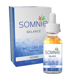 Somnio MCT CBD Oil Tincture 1000mg 10ml  - Balance
