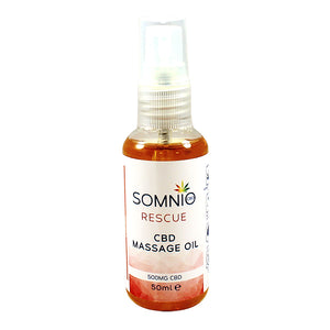 Somnio CBD Rescue Massage Oil 900mg 100ml