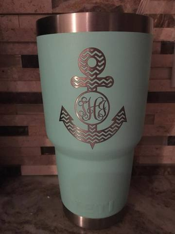 Custom engraved Yeti 30oz Tumbler - Minutes 2 Memories