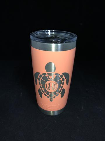 Custom engraved Yeti 20oz Tumbler - Minutes 2 Memories