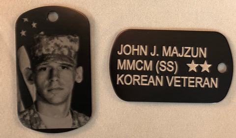 Photo Dog Tag - Minutes 2 Memories