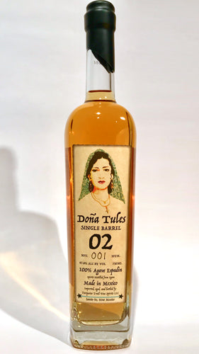 Dona Tules Single Barrel Anejo Mezcal Barrel #2