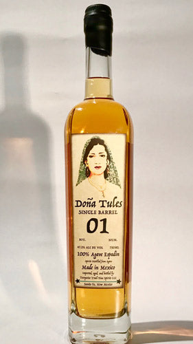 Dona Tules Single Barrel Anejo Mezcal Barrel #1