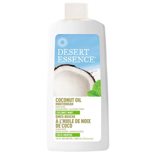 Desert Essence Mouthwash Coconut Oil 16oz