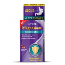 Natrol Magnesium Chewable - 60 day supply