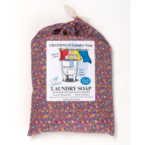 Grandma's Soaps Laundry Soap 40oz