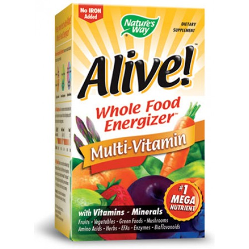 Alive! Multi-Vitamin No Iron Max3 Daily