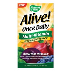 Alive!  Once Daily Ultra Multi-Vitamin - 60 Day Supply
