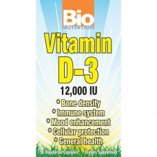 Vitamin D3 12,000 IU - 60 Day Supply