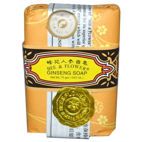 Bee & Flower Ginseng Soap - 2.65 ounce