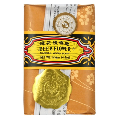 Bee & Flower Sandalwood Soap - 2.65 oz
