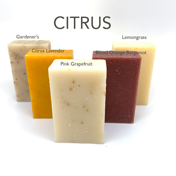 Citrus Soap Box - Set of 5 Soaps