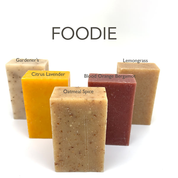 The Foodie Soap Box - Set of 5 Food-themed Soaps