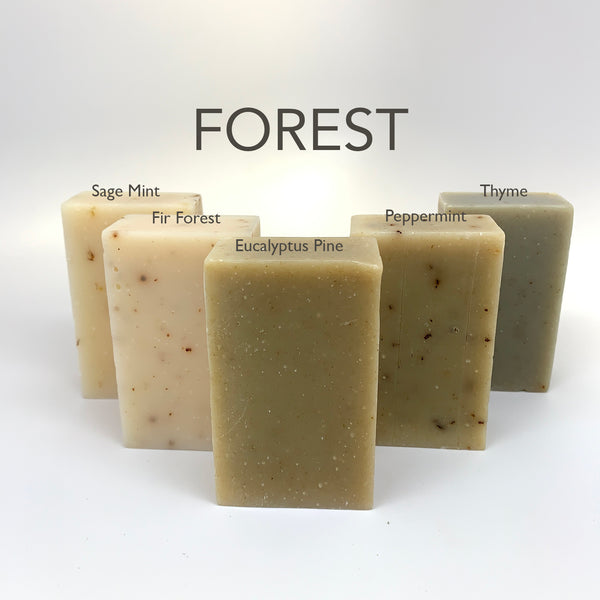 Forest Soap Box - Set of 5 Soaps