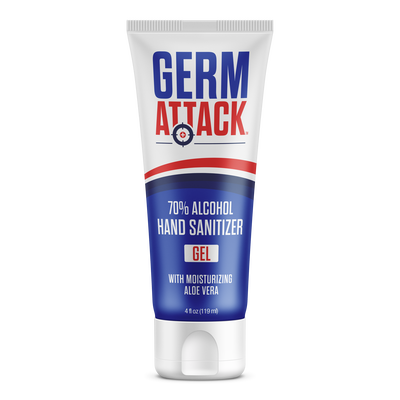 70% Alcohol Hand Sanitizer with Aloe Vera - Made in USA in FDA-Registered Facility