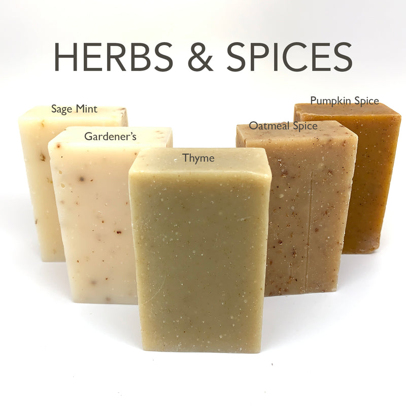 Herbs & Spices Soap Box - Set of 5 Soaps
