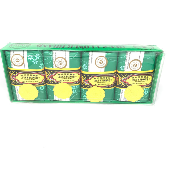 Bee & Flower Jasmine Soap - 4 Pack