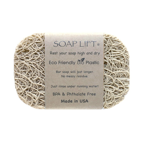 Soap Lift Original Bone keep soap dry by giving it a lift