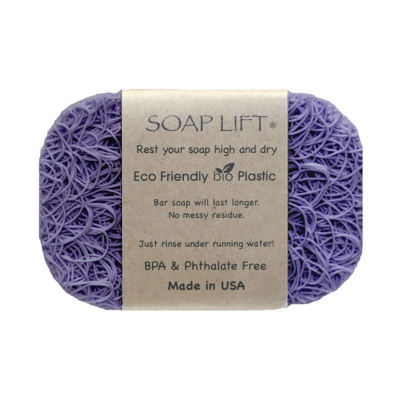 Soap Lift Original Lavender keep soap dry by giving it a lift