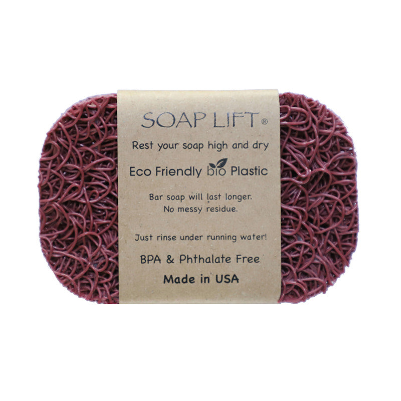 Soap Lift Original Raspberry keep soap dry by giving it a lift