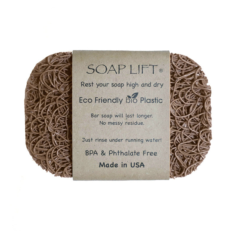 Soap Lift Original Tan keep soap dry by giving it a lift