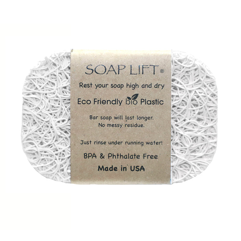 Soap Lift Original White keep soap dry by giving it a lift