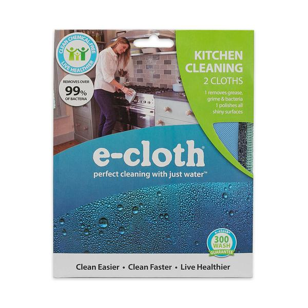 eCloth Kitchen Cleaning - 2 Cloths