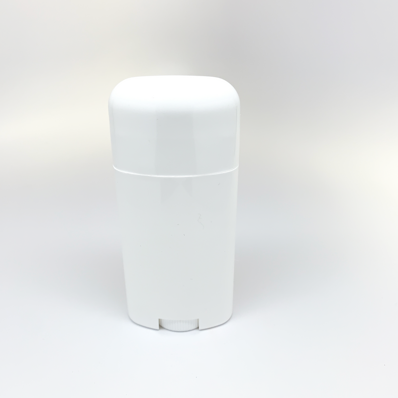 2.65 Ounce / 78 ml Empty Deodorant Container BPA-Free PP Plastic White Twist-Up Refillable Tubes