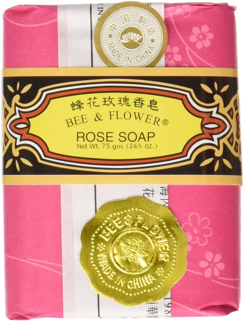 Bee & Flower Rose Soap - 2.65 ounce