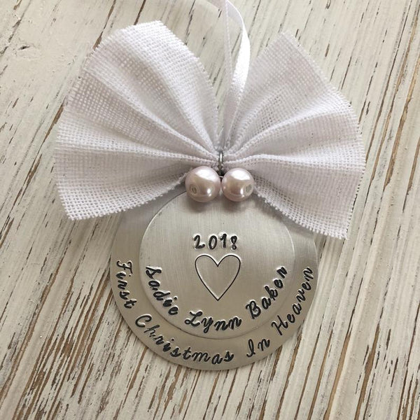 First Christmas in Heaven Ornament