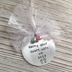 I Carry Your Heart With Me Ornament