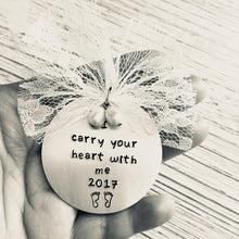 Load image into Gallery viewer, I Carry Your Heart With Me Ornament