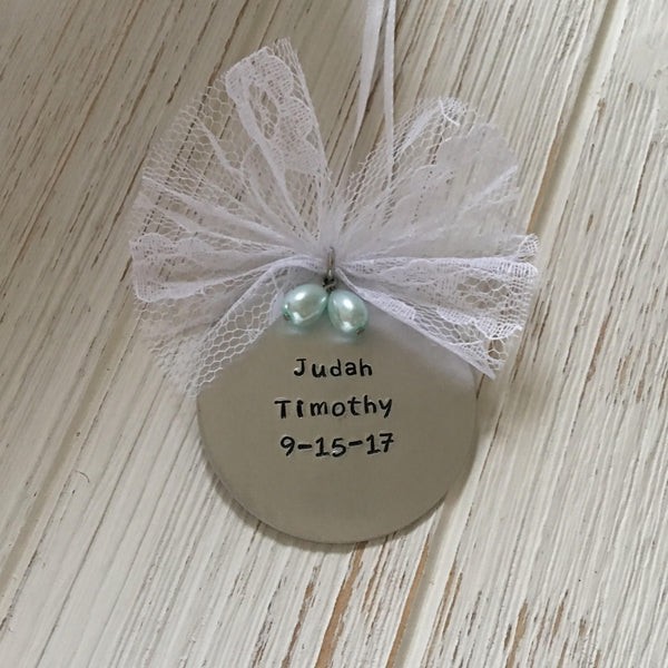 Personalized Memorial Ornament - SoulCysterCreations