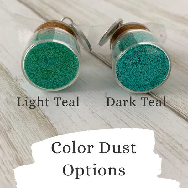 Teal Baby Dust - SoulCysterCreations