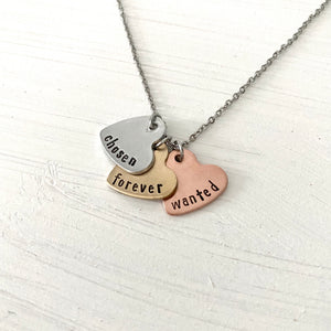 Heartfelt Words Necklace - SoulCysterCreations