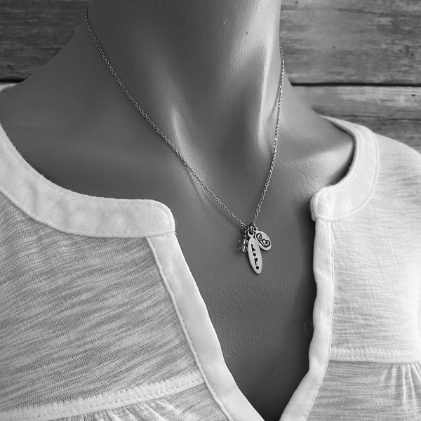Pregnancy Hope Infertility Necklace - SoulCysterCreations