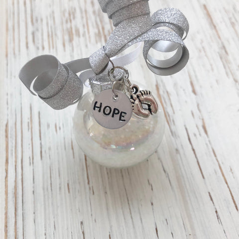 Hope Baby Dust Ornament - SoulCysterCreations