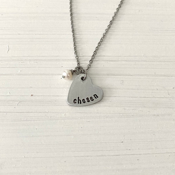 You Are My Heart Necklace - SoulCysterCreations