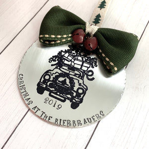 Until We Meet Again Hand Stamped Necklace