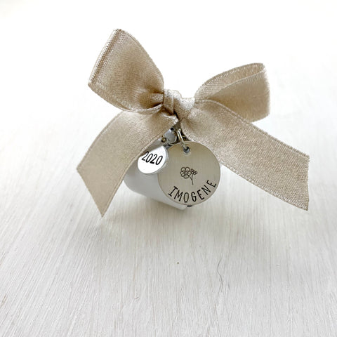 Forget Me Not Miscarriage Ornament - SoulCysterCreations