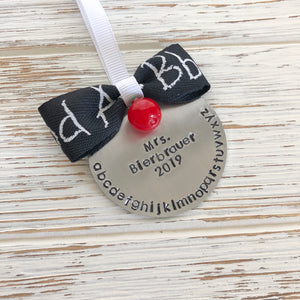 ABC Teachers Ornament