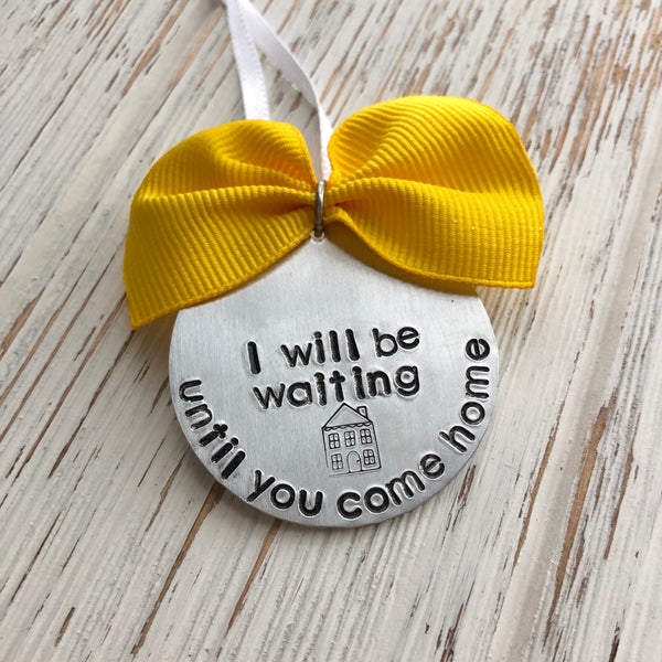 Until You Come Home Deployment Ornament - SoulCysterCreations