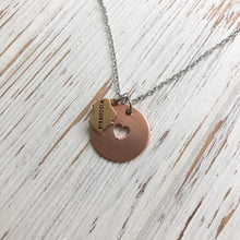Load image into Gallery viewer, Home Is Where The Heart Is Necklace