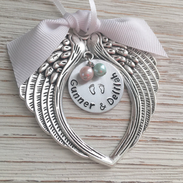 Baby Loss Memorial Ornament - SoulCysterCreations