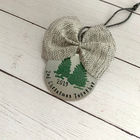 Christmas Together Tree Ornament - SoulCysterCreations