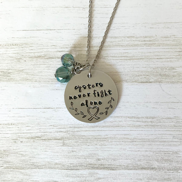 Cysters Never Fight Alone Necklace