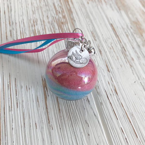Mini Pregnancy And Infant Loss Ornament - SoulCysterCreations