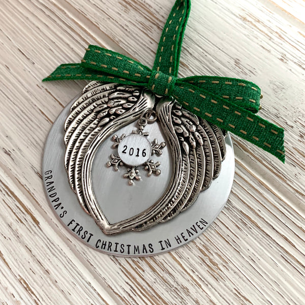 Loved One's Christmas In Heaven Ornament - SoulCysterCreations