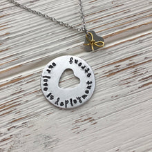 Load image into Gallery viewer, Our Love Is Deployment Strong Necklace